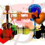 GUITARE d'accompagnement, acoustique & électrique
