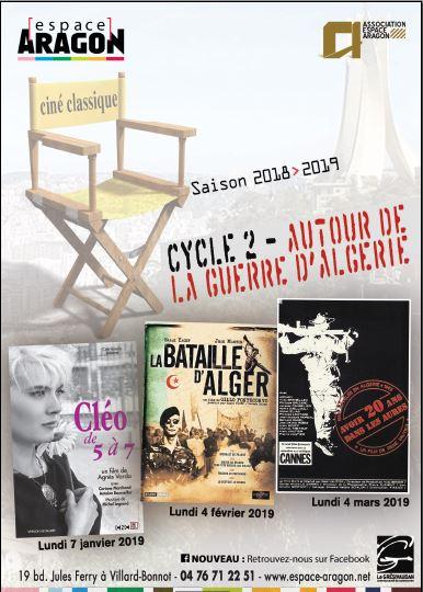 Ciné Classique «Autour de la guerre d'Algérie»